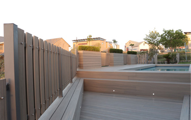 Adamas Deck for Open Air Swimming Pool