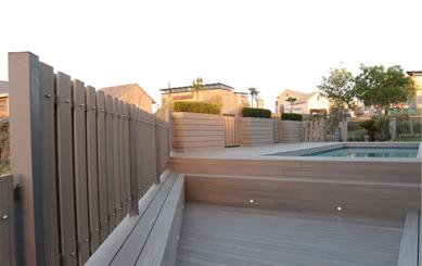 Adamas Deck for Open Air Swimming Pool