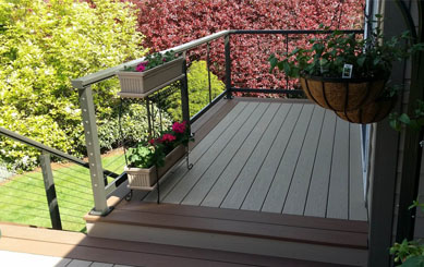 Adamas Deck for Stairs