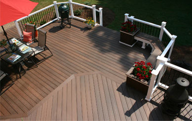 Co-extrusion Decking for Alfresco Dining Areas