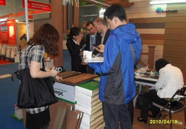 The General Situation Of Sundi Wpc Attending The 108th China Import And Export Commodity Fair In October Of 2010
