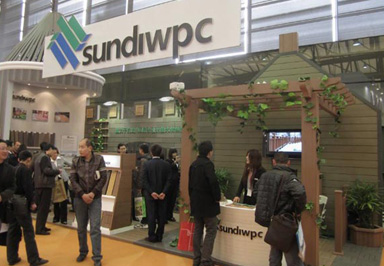 Sundi Wpc Attended The 13th Domotex Asia In March Of 2011