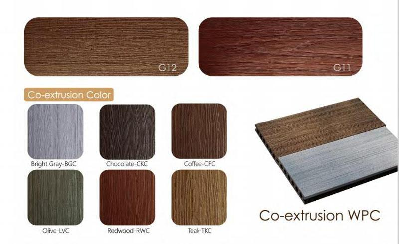 Co-Extrusion Cladding, Composite Wood Exterior Wall Cladding