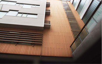 Adamas Cladding for Exterior Wall