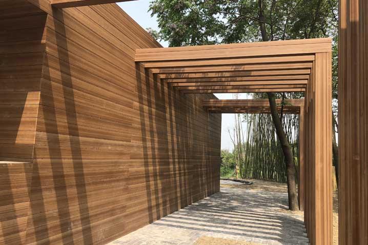 Wood Plastic Composite Fencing