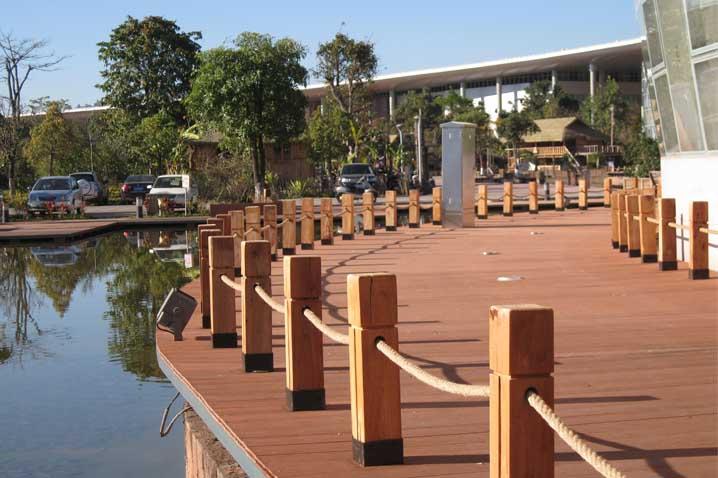 Composite Wood Fence Panels