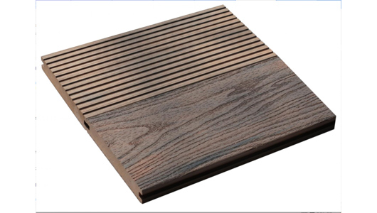 WPC Deep-Pattern Deck SLD140S23C (with side grooves)