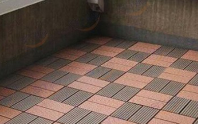 Snap Together Composite Deck Tiles