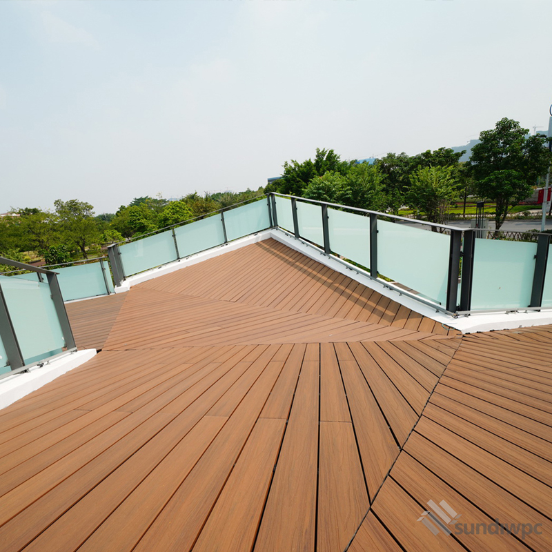 Outdoor Teak Composite Decking