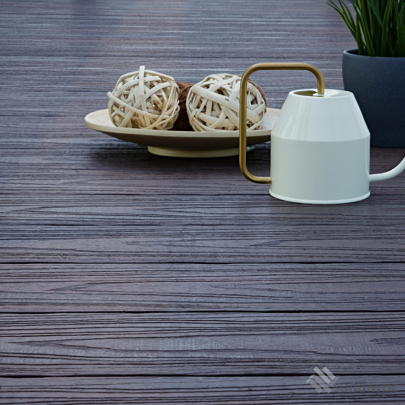 Outdoor Walnut Composite Decking Board