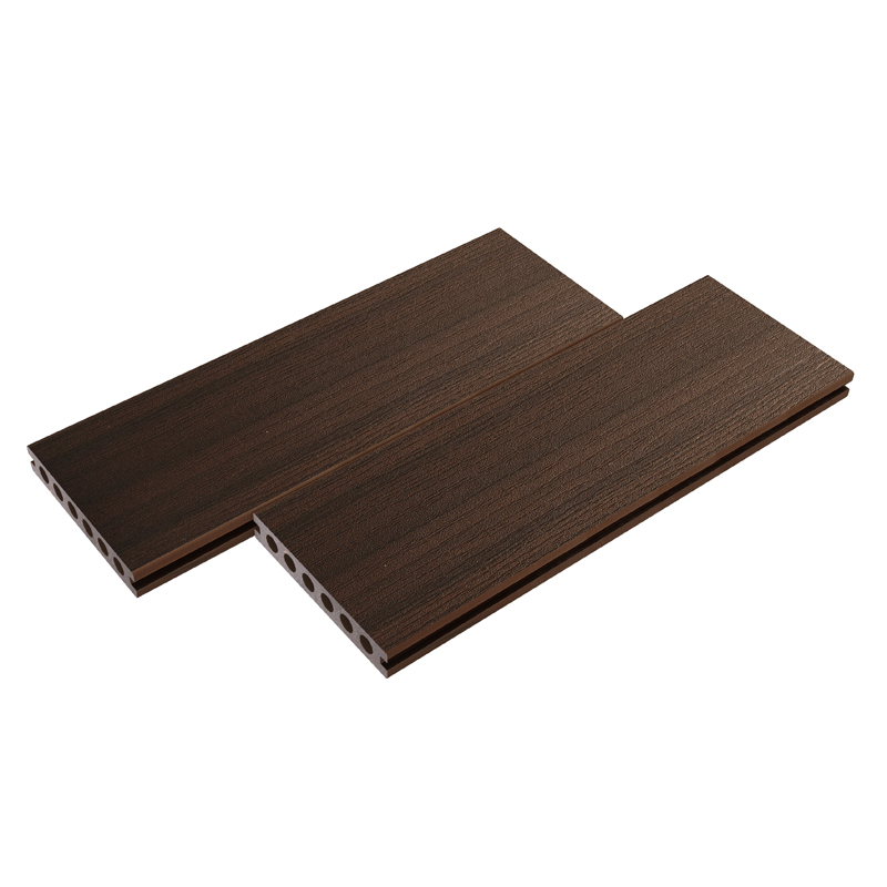 Straight Grain Walnut Composite Decking
