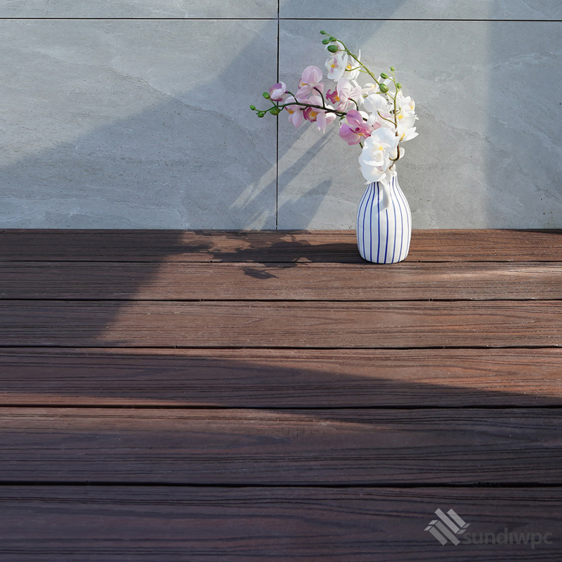 Walnut Composite Decking