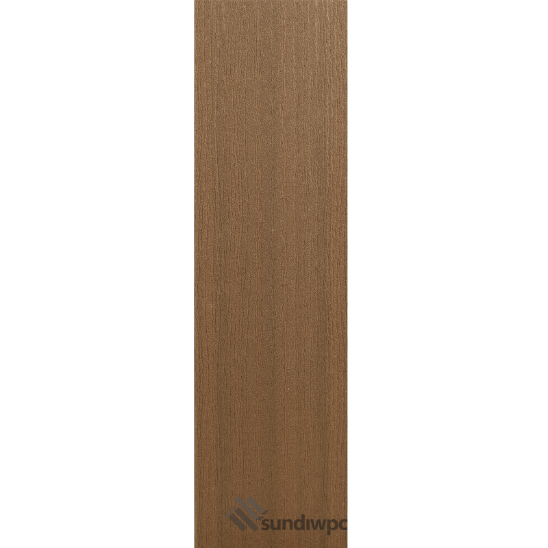 White Oak Grain - Teak Composite Decking Boards