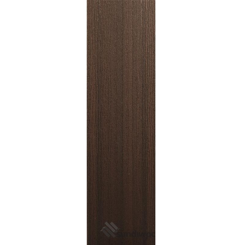 White Oak Grain - Walnut Composite Decking Boards
