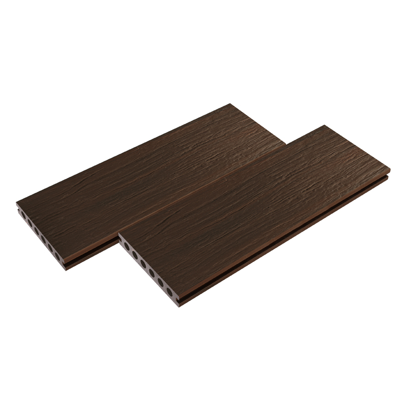 Wood Grain Walnut Composite Decking