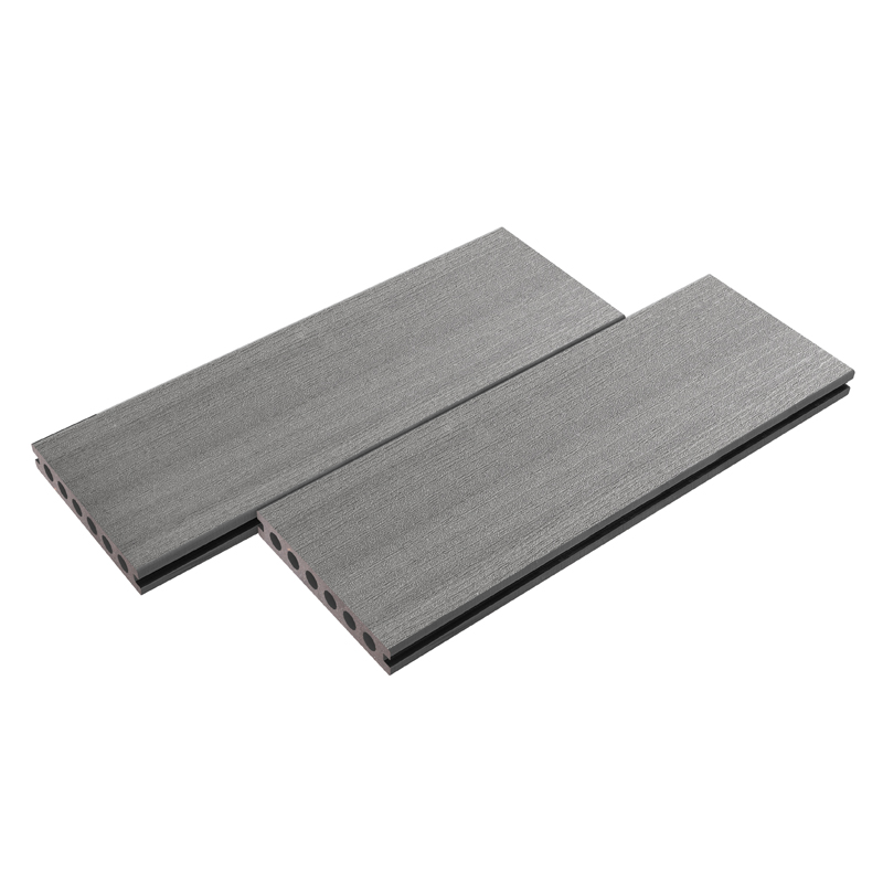 Dark Grey Plastic Decking