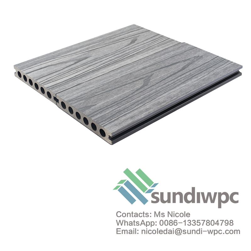 Grey Plastic Decking Board
