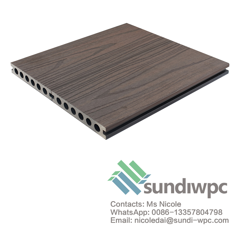 Sundi Walnut Composite Decking Board