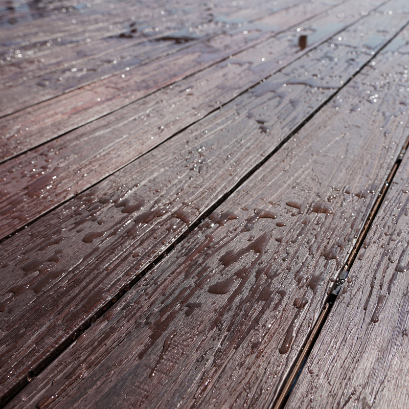 Waterproof Walnut Composite Decking Board