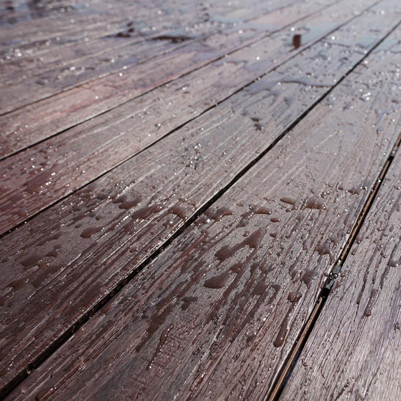 Waterproof Walnut Composite Decking Board