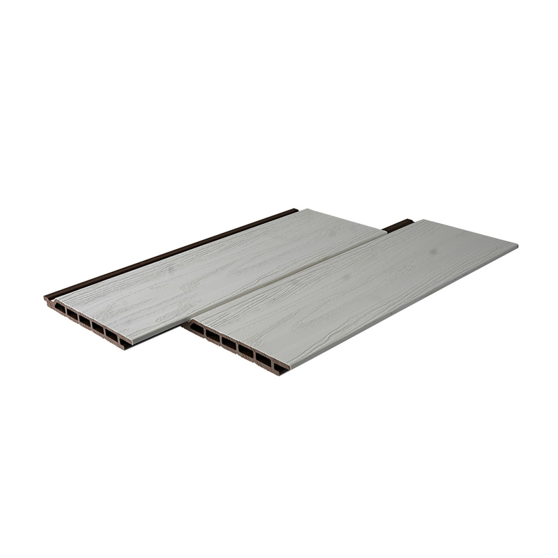 White Composte Decking Material