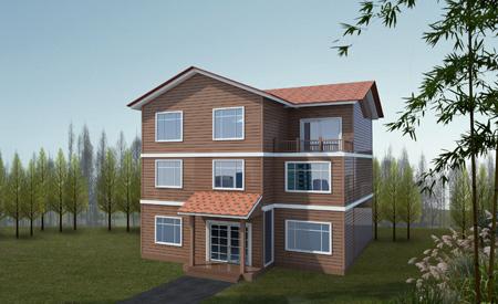Modern Prefab Villa Home